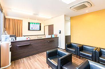 姫路メディカルクリニック ミセルクリニック姫路院の待合室